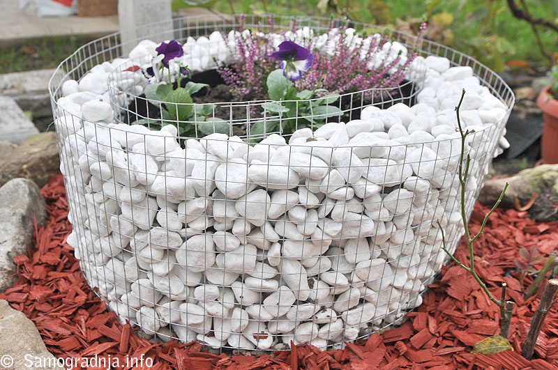 Slikovni rezultat za dekorativni gabioni
